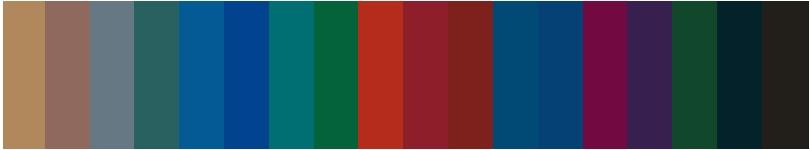 パーソナルカラー診断ウィンターが似合う色2