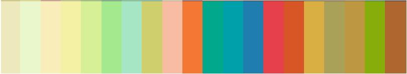 パーソナルカラー診断オータムが似合う色2