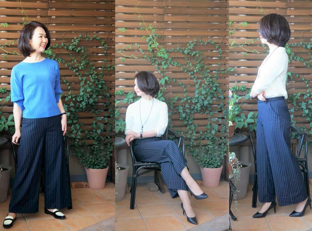 スタイリッシュなきれい系の洋服コーデ