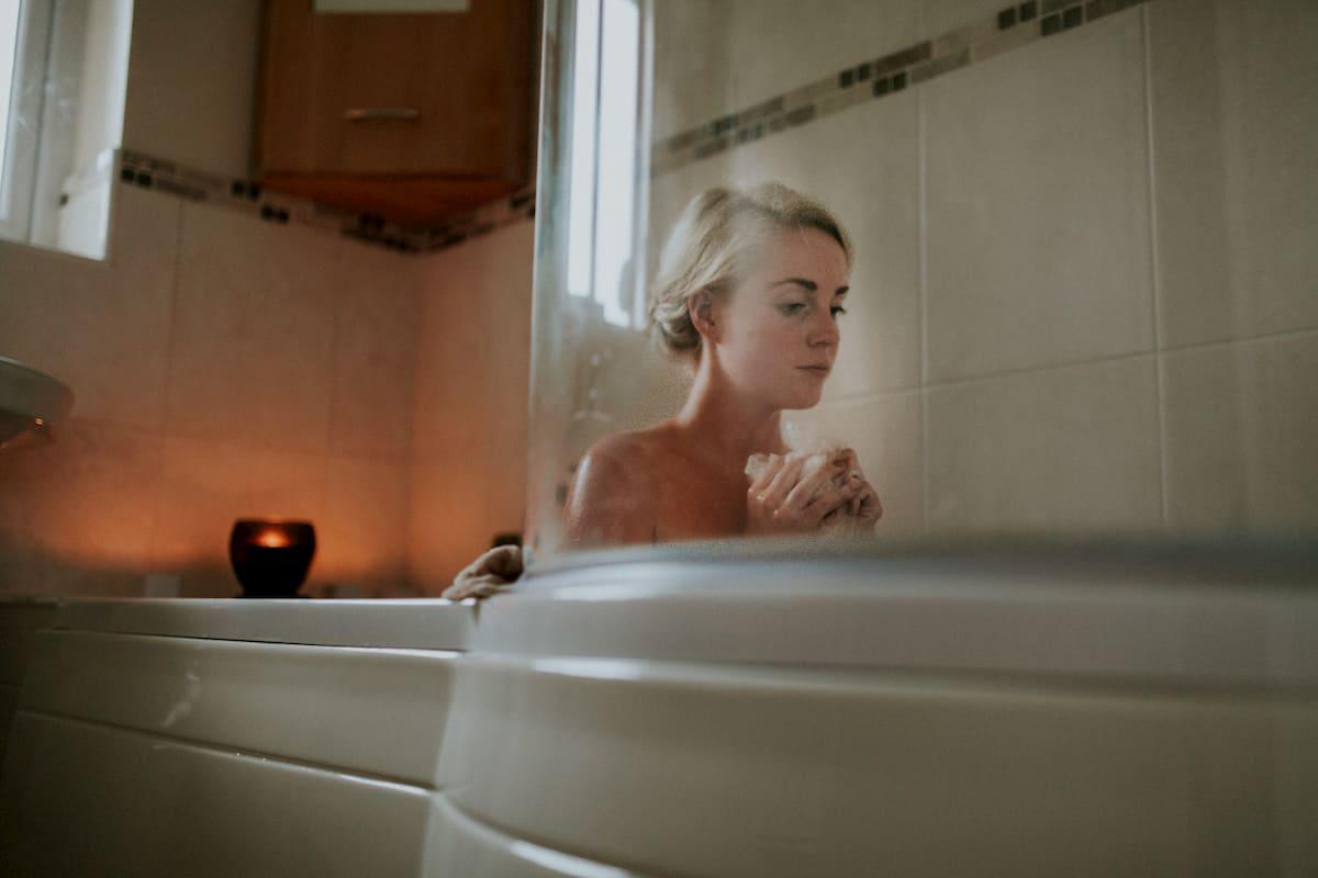入浴時に手軽に染められる