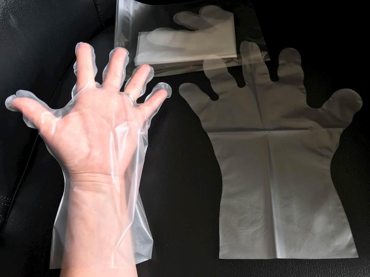 マイナチュレカラートリートメント透明手袋